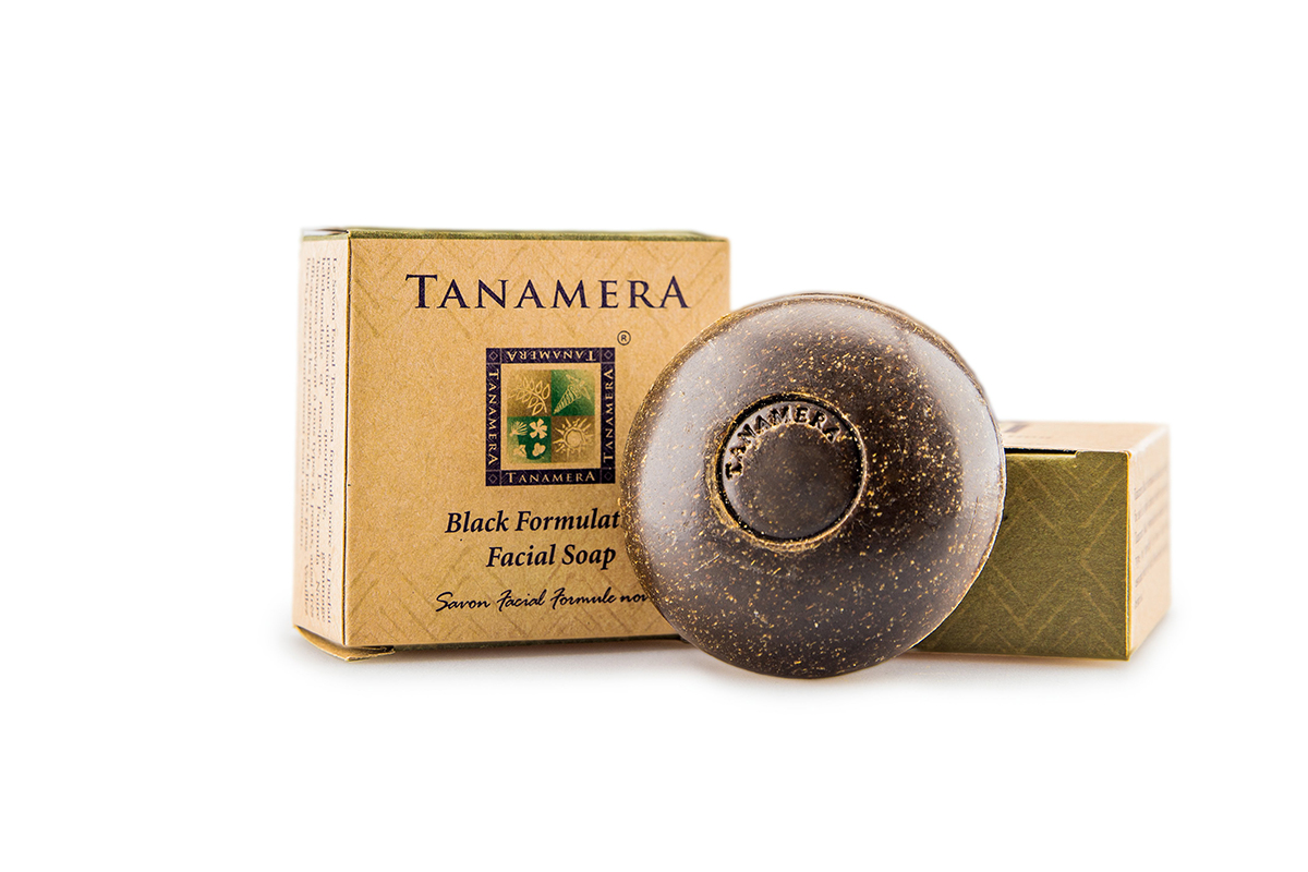 Tanamera Black Formulation Facial Soap
