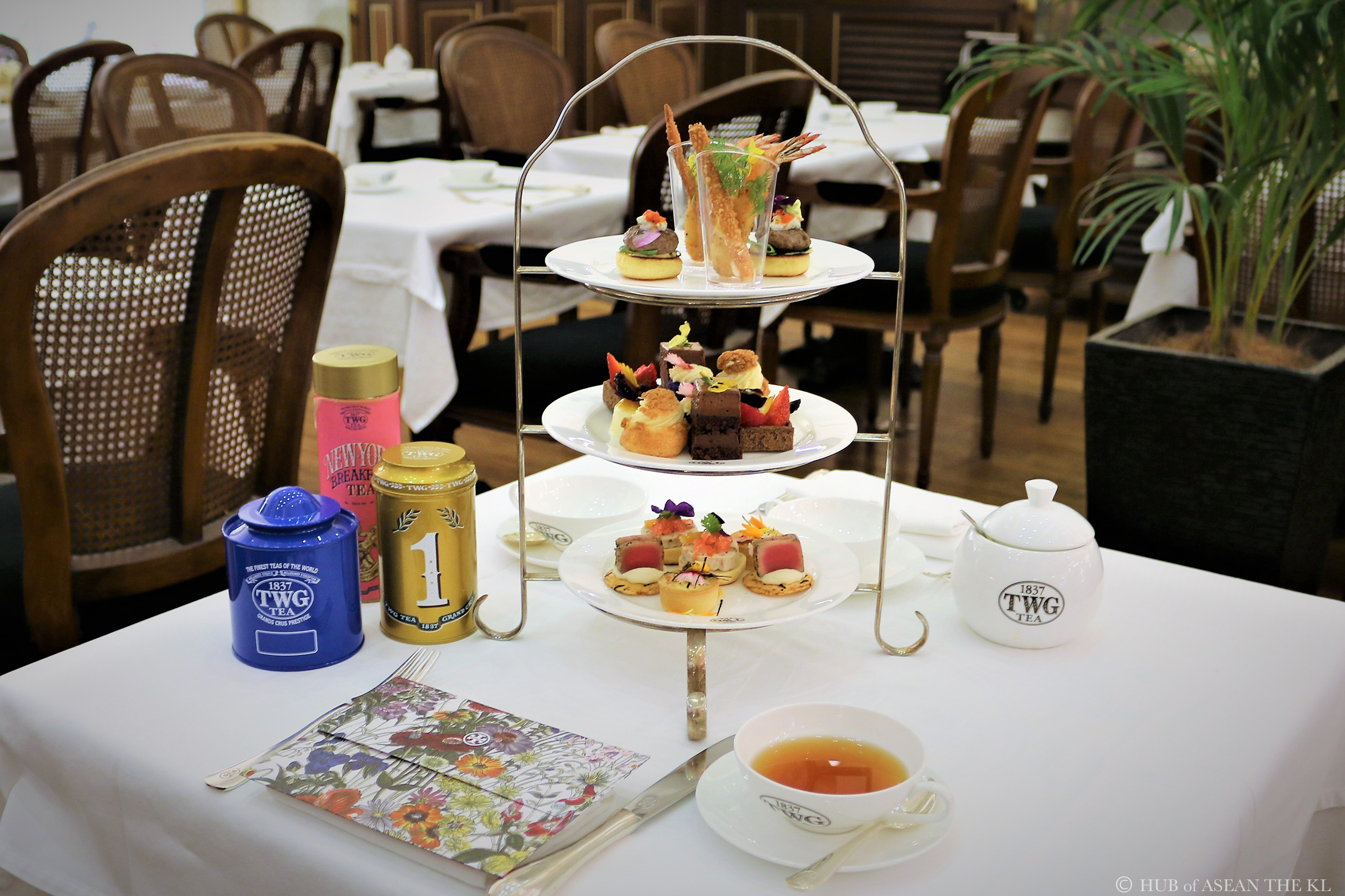 TWG Tea at Pavilion KLでハイティー